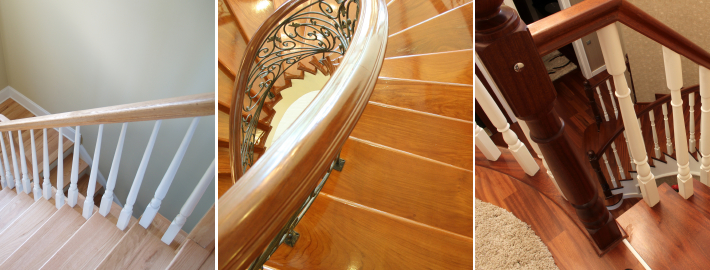 Vancouver staircase handrails installations